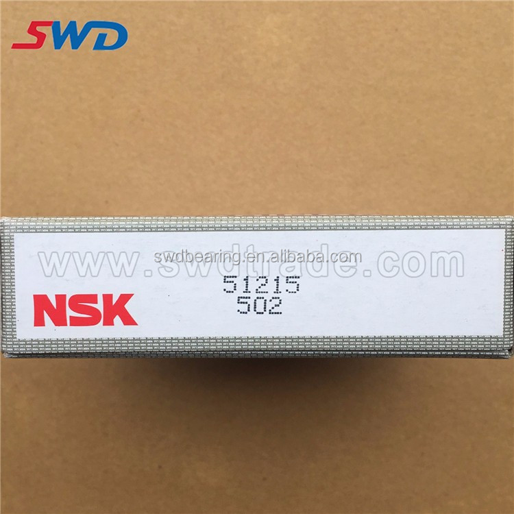 NSK 51215 thrust ball bearing 51215 bearing