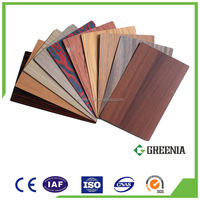 Wood Finish Laminate HPL Sheets Door