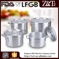 New product metal cooking pot with steel handle