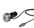USB C Car Charger Adapter 3.0 Aluminium 5.4A With Type C cable Factory Offer
