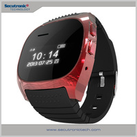 Hot Selling 0.96 Inch LCD Bluetooth Wrist Cell Phone M18 Smart Watch Band