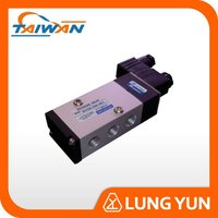 110V 5 PORT 3 WAY THREADED ELECTRIC VALVE SOLENOID DC 12V FOR WATER