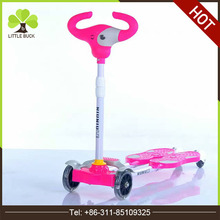 Factory direct supply kids flicker 4 scooter super kids scooter new model widen pedal cheap kids scooter