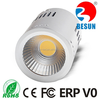 NEW Arrival PE>0.98 Warm White Dimmable 20w surface mounted cob led downlight