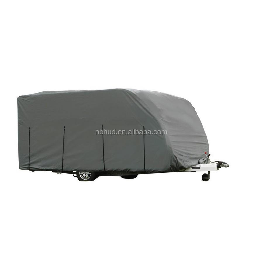 All Weather Protection Breathable Non-woven Trailer RV Caravan Cover