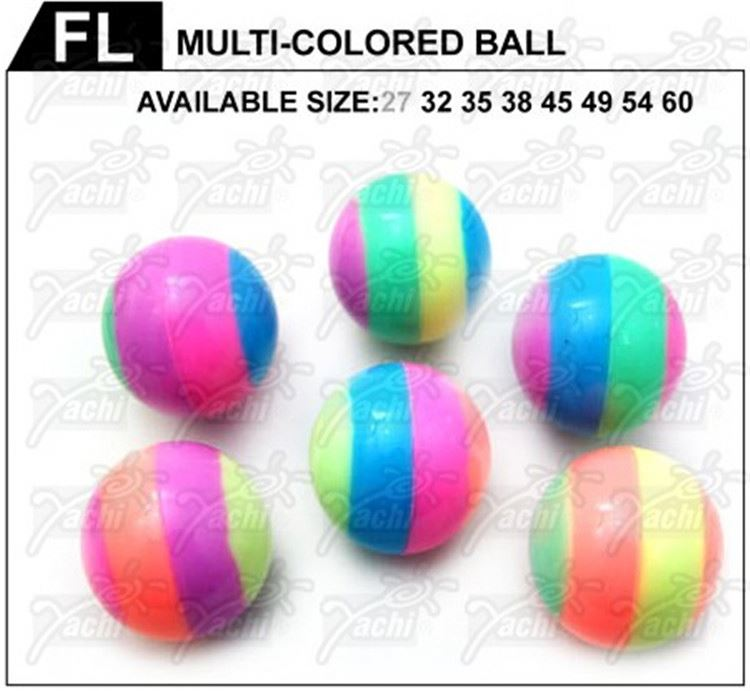Latest arrival trendy style energetic jump printed bouncing balls