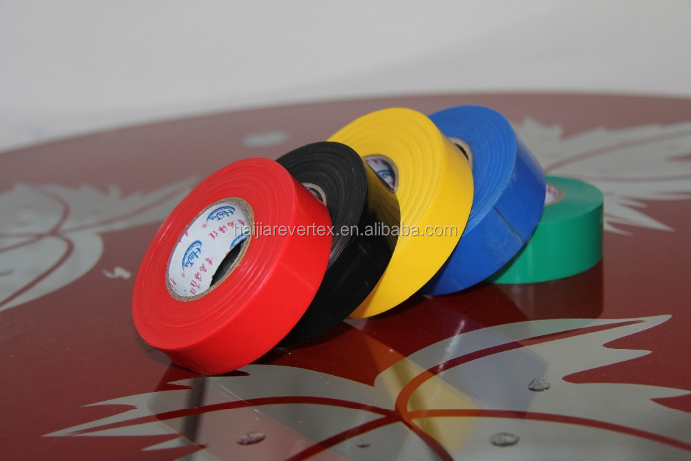 full sizes full color top quality selfadhesive pvc electric tape