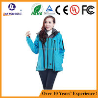 Two sets battery jacket heated jacket tank thermal fleece jacket two sets winter warming clothes heated coat
