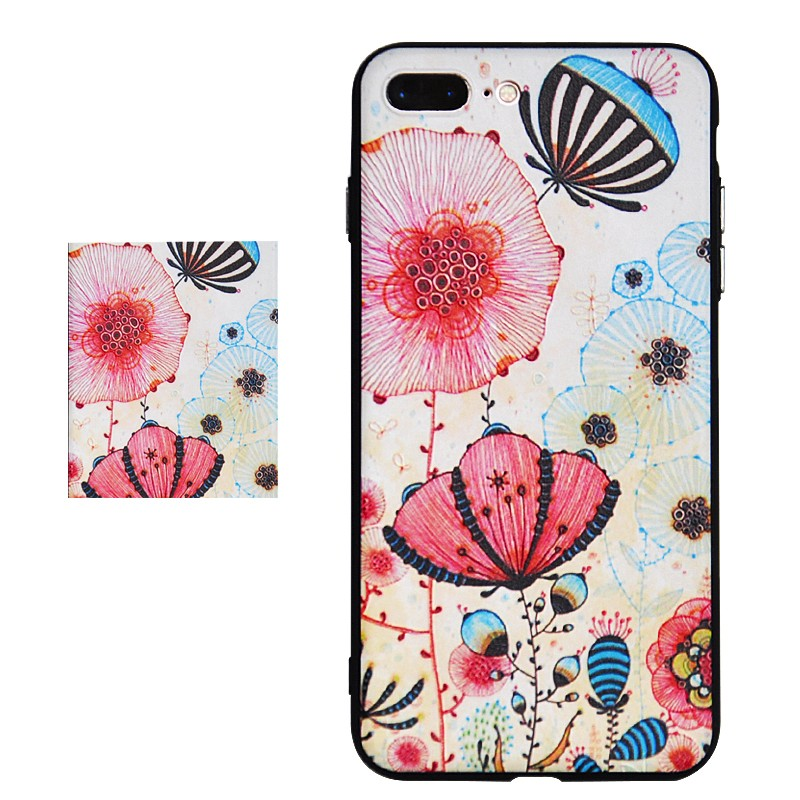 Colorful Pattern Plastic Series for Apple Iphones7 7plus Apple 7 Case Bag Pattern Print Printing Drawing Cells Phone Cases