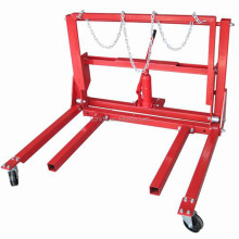 1000lbs Hydraulic Dual Wheel Dolly Vehicle Moving Dolly