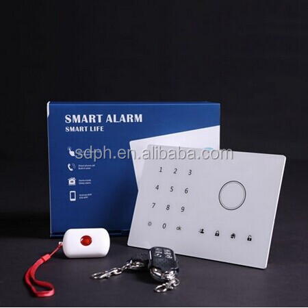 Personal,Door,home,shop,window,fire,gas Usage security GSM alarm systems With Wireless Strobe Siren PH-G2