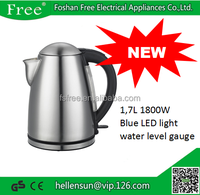 1.7L 1800W Cord Free Auto-Shut off SS Electric kettle Distributors Wanted