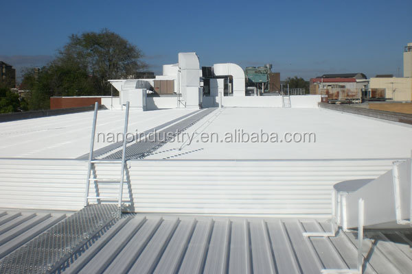 nano heat reflective roof coating
