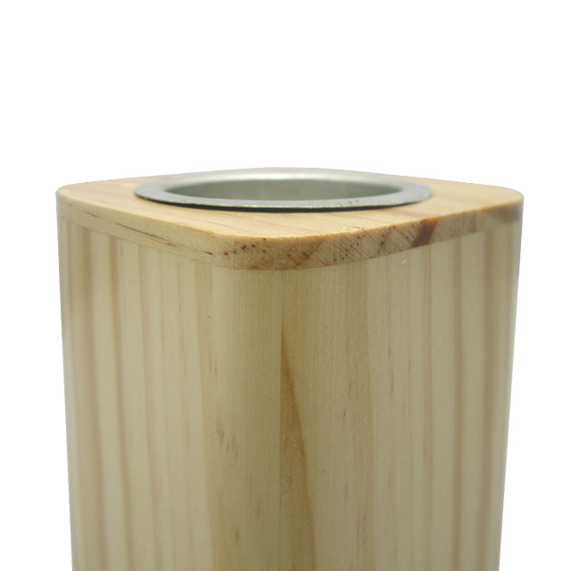 custom wooden pot for home and garden pine flower pot