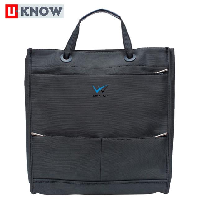 Factory custom fashion large capacity briefcase school messenger bag
