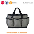 Heavy Duty Fashion Polyester Gardening Tool Tote Bag (Gray)