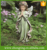 Factory customized life size weeping garden angel statue