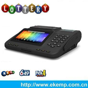 Integrated Gaming and Transaction Processing Systems for Android Application Lottery