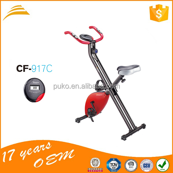 beautiful shape exercise bike saddle gym machine