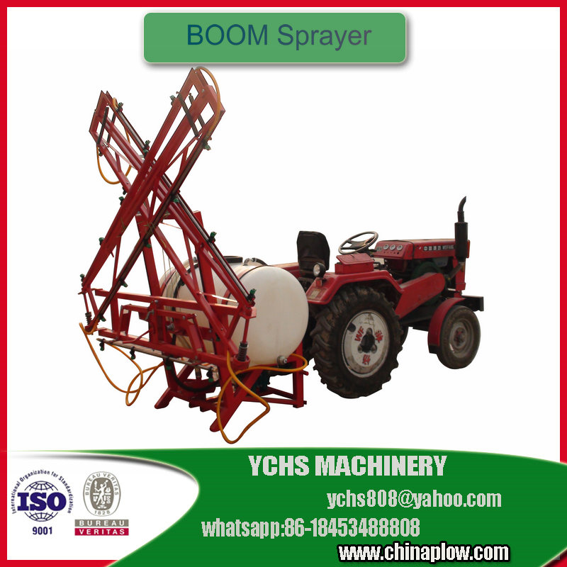 Self propelled powered boom sprayer with new condition