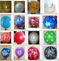 2016 new design 5sides one color printing balloon and 5colors one side printing balloon from zhanhongtoy