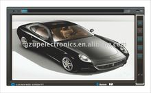 "6.95 ""Universal 2 Din Car DVD con fijo panel digital"