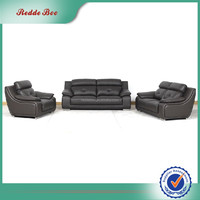 Manufacturer living room sectional leather trend sofa