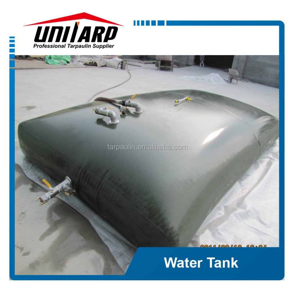 500-5000L good quality pvc canvas for water tank