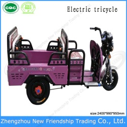Electric Tricycle similar to auto rickshaw/ Electric motor tricycle with Three wheeled electric vehicle