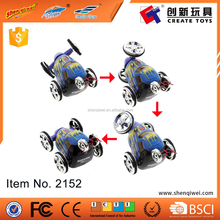 "360 degree rotating rc mini toy cars remote control twister 2"" stunt"