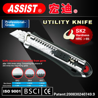 assist brand manufacturers utility knife stanley for sales round blade buttons cutting blade knife