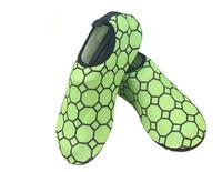 women durable flat shoe micro-fiber upper unique shoes