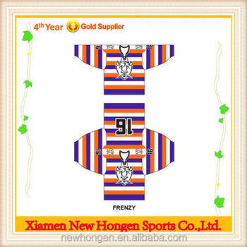 Fashionable Plain Ice Hockey Uniform ,Sublimation Ice Hockey Jersey For Free Design
