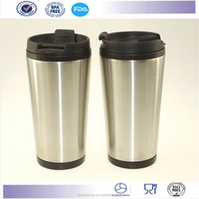 New desigen double starbucks stainless steel tumbler coffee mug auto mug