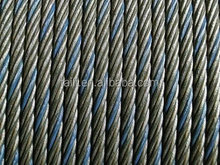 Blue Strand Steel Wire Rope 6x37
