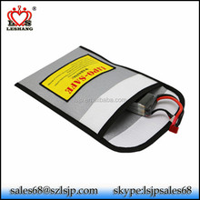 High quality waterproof fireproof document money bag, Lipo safe battery envelope
