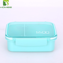 Wholesale plastic PP lunch box with time lock box