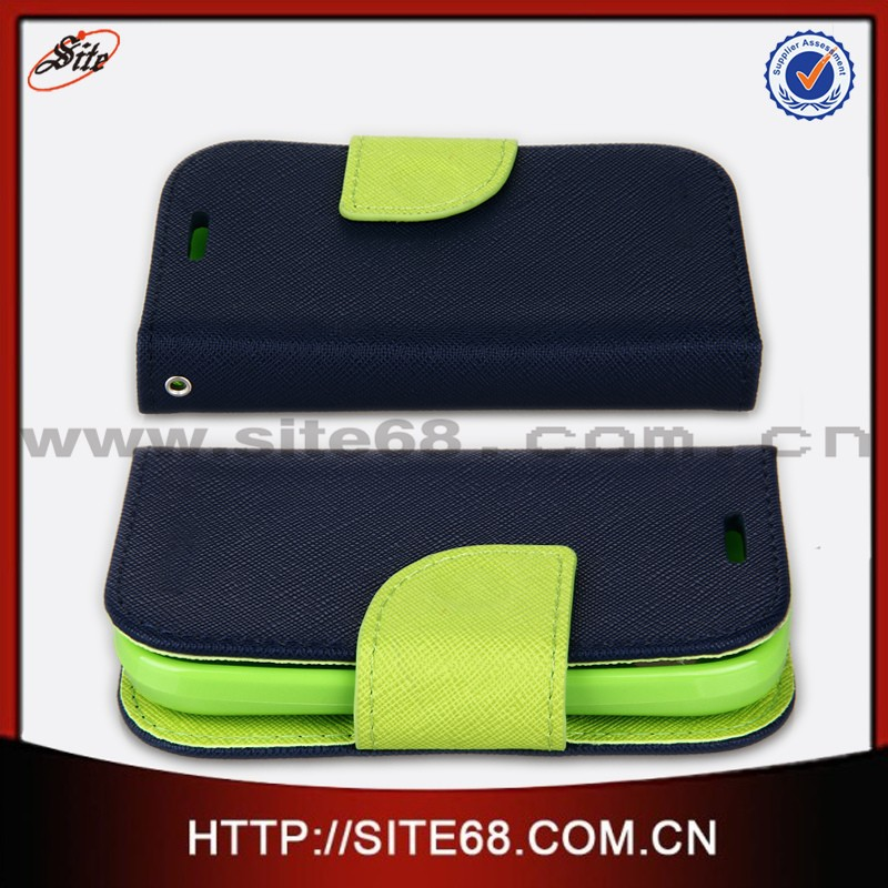 China manufacturer cellphone leather cover case for alcatel one touch pop <strong>c1</strong>