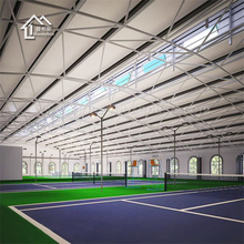 Steel structure projects indoor sport prefabricated stadium manufacturer
