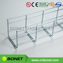 Bonet 100x100mm Heavy Duty Metal Cable Tray Basket with 5mm Wire Thickness
