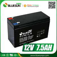 Rechargeable UPS Usage and Free Maintenance Type AGM 12v 1.3ah lead-acid battery