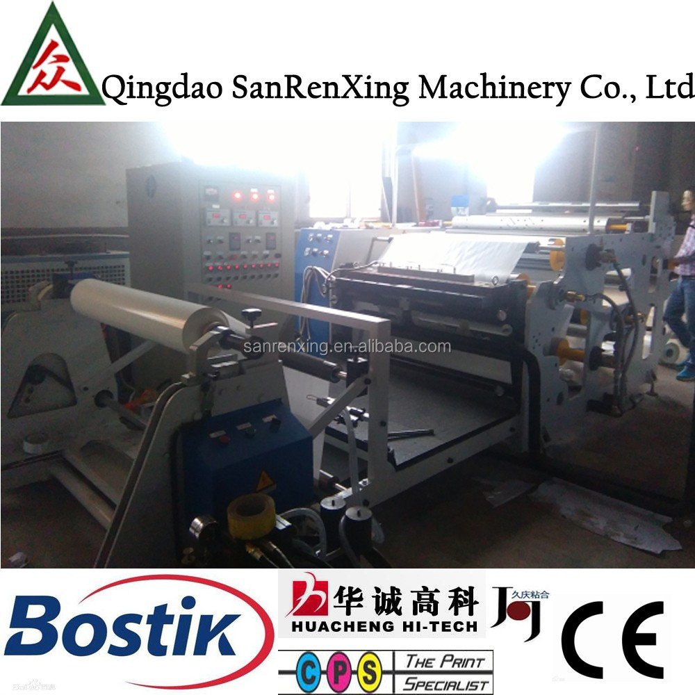 Slot type EVA foam sheet hot melt adhesive coating laminating machines