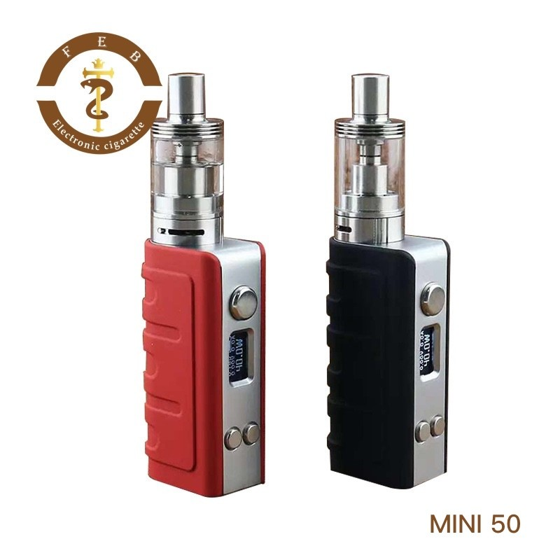 Cheap Price 2ML E-health Cigarette 50W Vape Mods 2017 Electric Cigarette Vaporizer