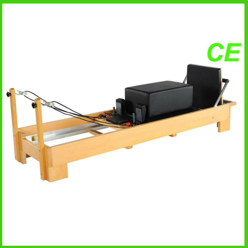 A+ Germanic beech and 18/8 stainless steel with CE Pilates Reformer(YT-PRA)