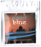 Bombay Blue 3 grams herbal incense mylar pouch, sticker foil bags in UK