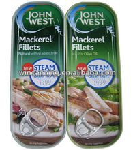 100g Konserven Makrele filets in Öl