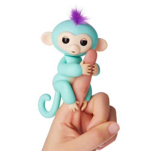2017 hot toys Fingerlings Zoe finger Baby Monkey Interactive Pet toys for kids