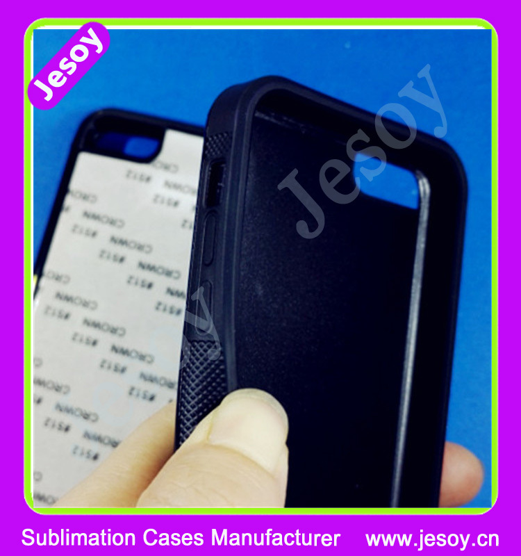 JESOY Blank Cell Phone Case 2 in 1 For i Phone Case, 2D Sublimation For iphone 6 6s case