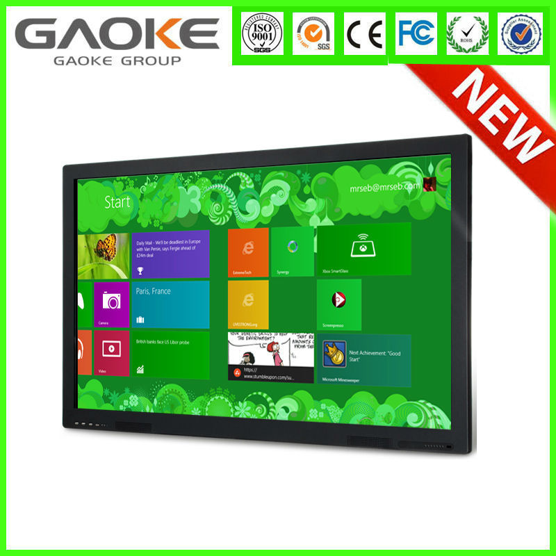 Full HD 1080P 42 inch cheap small wall mount lcd touch screen tv monitor for indoor use