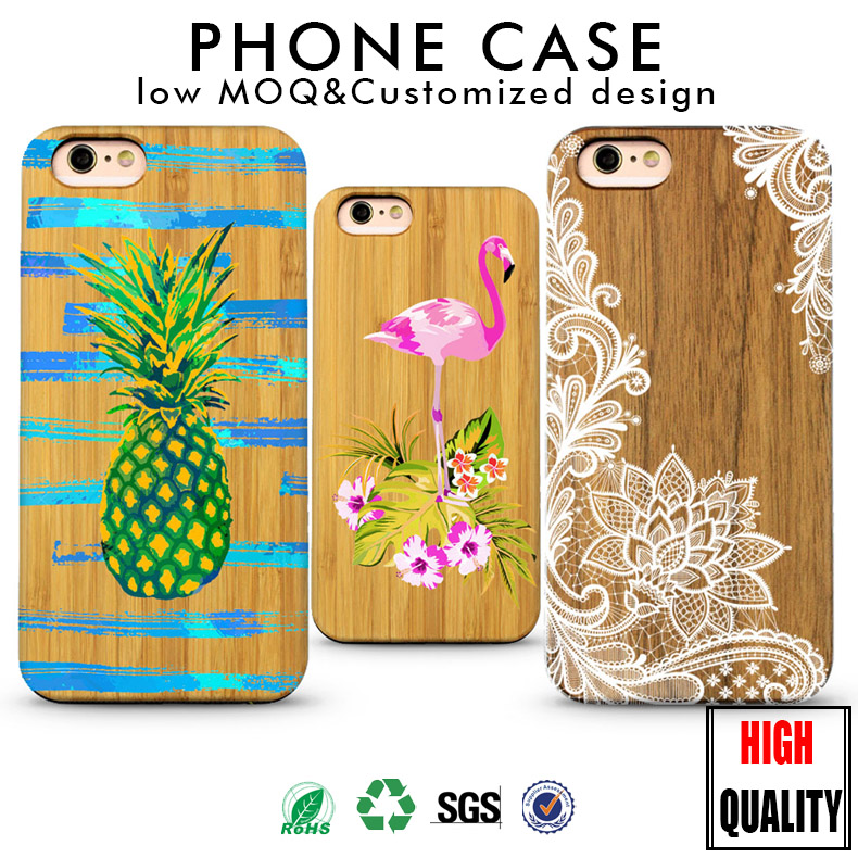 Natural Wooden back covers for iphone 6s 5 bamboo cases for iphone 6 for galaxy s8 cork wood case for iphone 7 case wood